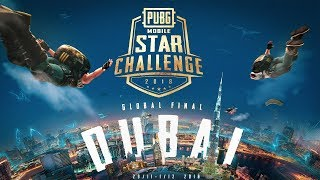 PUBG MOBILE STAR CHALLENGE GLOBAL FINALS DUBAI DAY 3 (FINAL DAY)