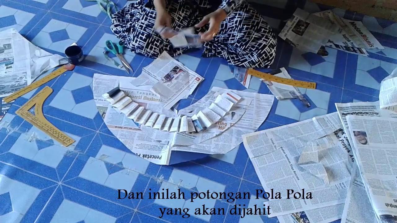 Tutorial Menjahit Baju Dari Koran