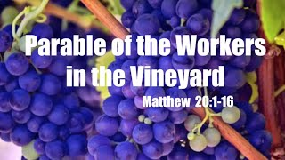 Parable of the Vineyard Workers