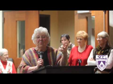 Norma Jean Campbell exhibit opening at St. Catharine College
