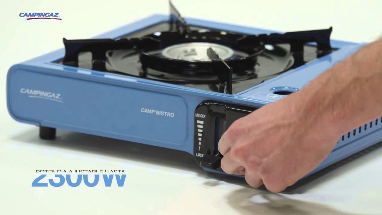 Campingaz® Camp\'Bistro - Cocina con 1 quemador - ES - YouTube