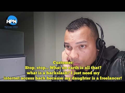 Call Center Conversation #08 What Tech Support Is Really Like
