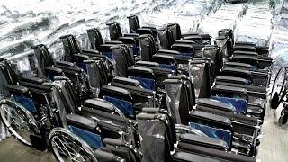Костыли, алкотестеры, инвалидные кресла. || Сделано в Евразии. Армения