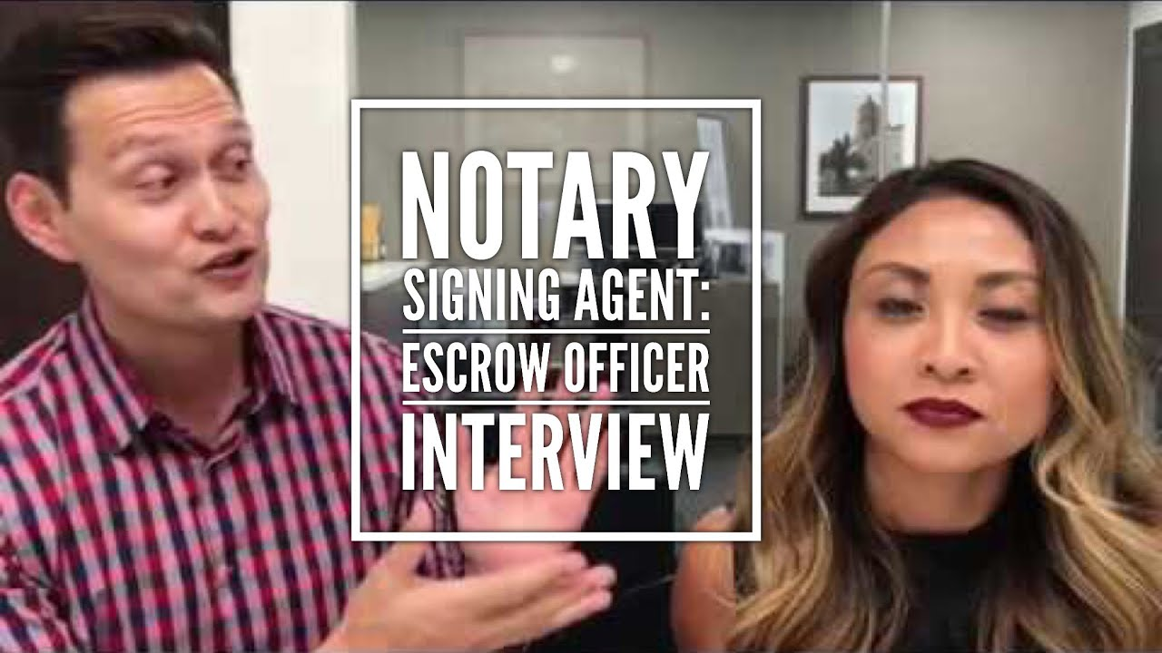 Marks interview with an escrow officer i only hire notary loan marks interview with an escrow officer i only hire notary loan signing agents that publicscrutiny Image collections