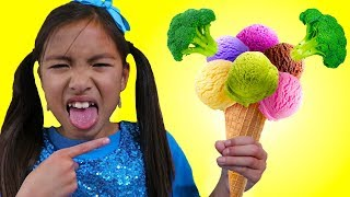 Baixar Do You Like Broccoli Ice Cream Song | Wendy Pretend Play Singing Kid Nursery Rhymes