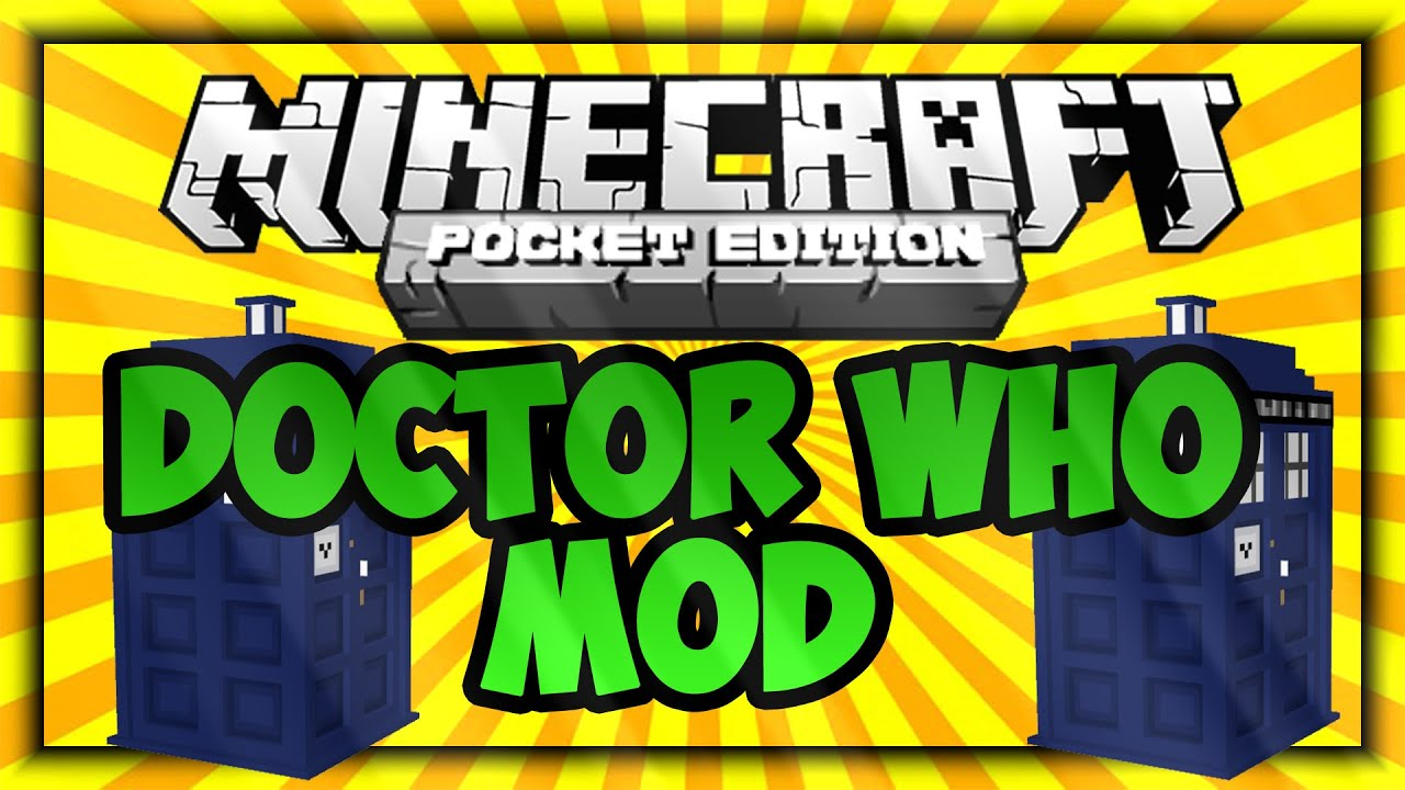 Doctor who mod for minecraft pe download free - MCPEFL