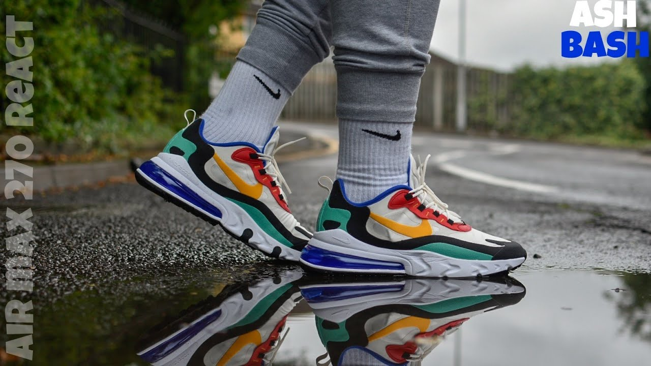Review + On Feet | Nike Air Max 270 React 'Bauhaus' | Ash Bash