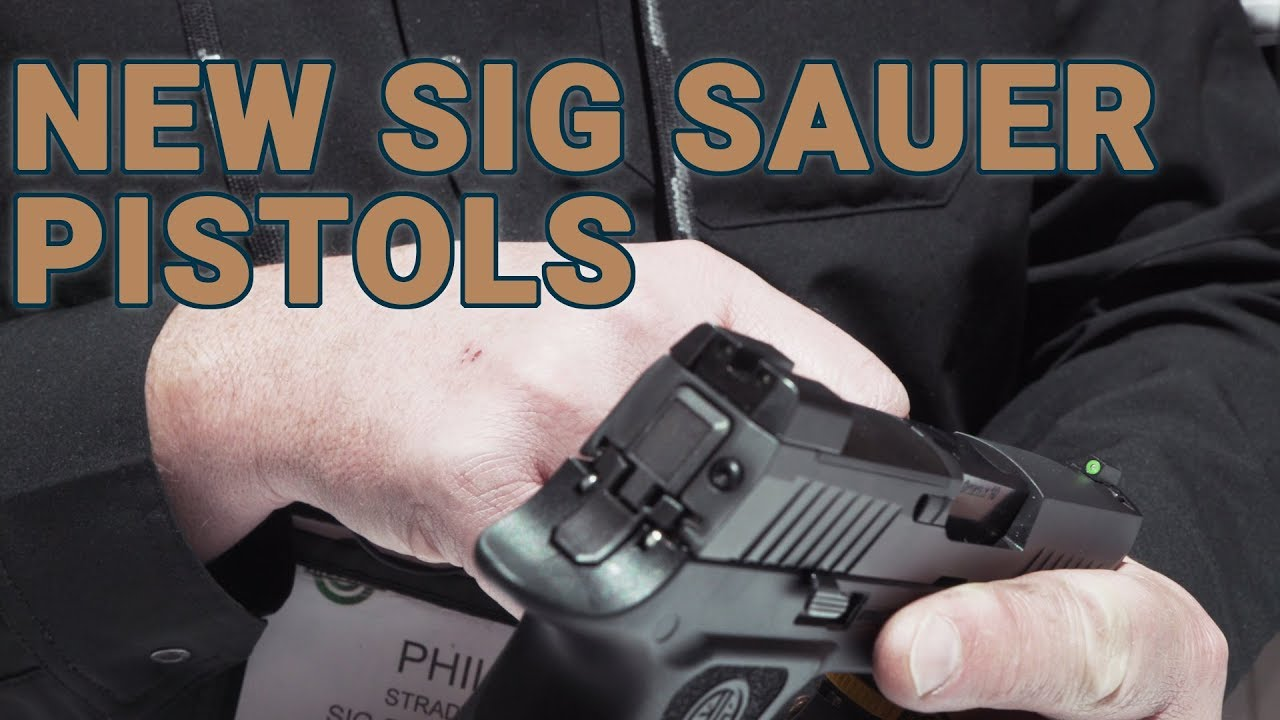 Sig Sauer displays new pistols for 2019 at SHOT Show (VIDEO)