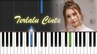 Rossa - Terlalu Cinta (EASY Piano Tutorial)