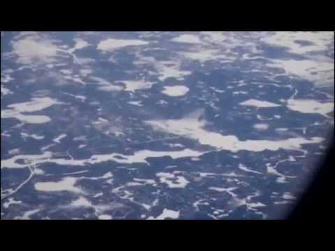 View Of North America from the air