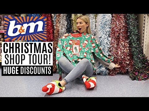 NEW IN B&M CHRISTMAS SHOP TOUR 2019 / *WHAT'S NEW IN?*