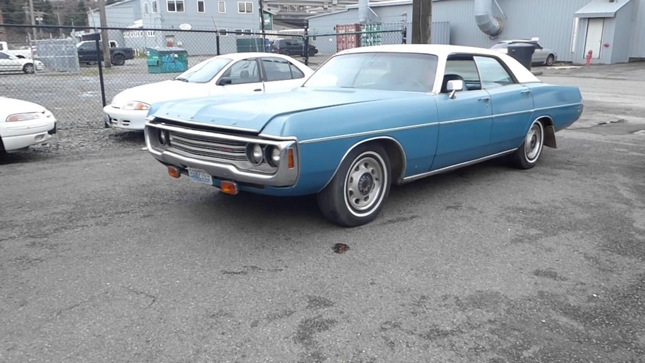 1971 Dodge Polara Brougham - Part 1
