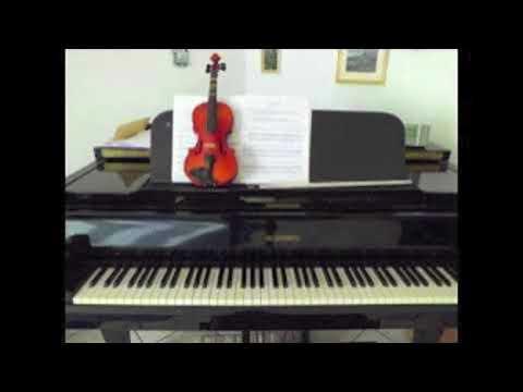 Nicolo Paganini: Cantabile Playback BPM 59 Piano: G. Dingler
