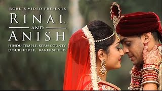 Rinal Patel & Anish Patel - Cinematic Wedding Day Highlights (Hindu)