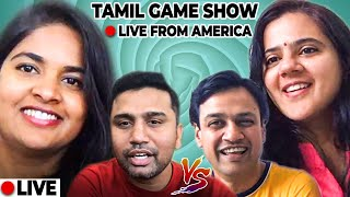 ?LIVE FROM AMERICA: World's Very first Tamil Online Game Show with Stand up Comedian Nidarchana