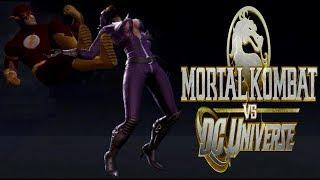 Mortal Kombat Vs DC Universe - The Flash Playthrough - Very Hard (DC Universe)