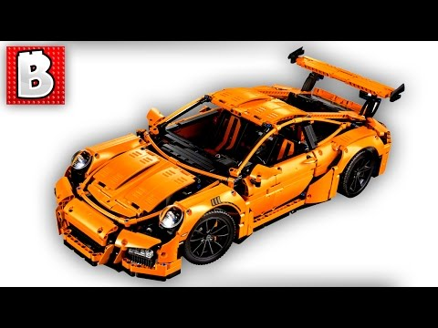 Lego Technic Porsche 911 GT3 RS Set 42056 | Unbox Build Time Lapse Review
