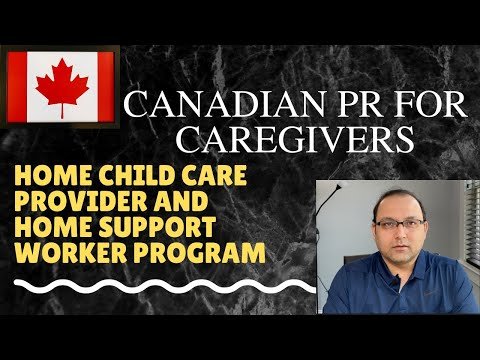 Caregiver Program Canadian PR - CLOSED To New Applicants. Apply Through Live-in Caregiver Program