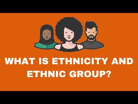 What is Ethnicity? | Ethnic Groups |Race |  Ethnicity Vs Race |