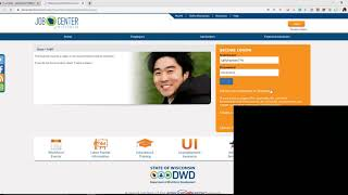 How to File aฑ Unemployment Claim - Step 1- Creating a JobCenterofWisconsin Account