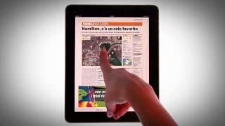 La Gazzetta dello Sport per iPad. Lo sport come non l'hai mai visto. (Tutorial)