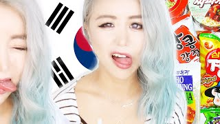 Australian Girl Tries Korean Snacks + Vegemite Chocolate ♥ Taste Test ♥ Chinese Australian ♥ Wengie
