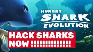 Hungry Shark Evolution Hack - Super Cheat For Coins and Gems!!!