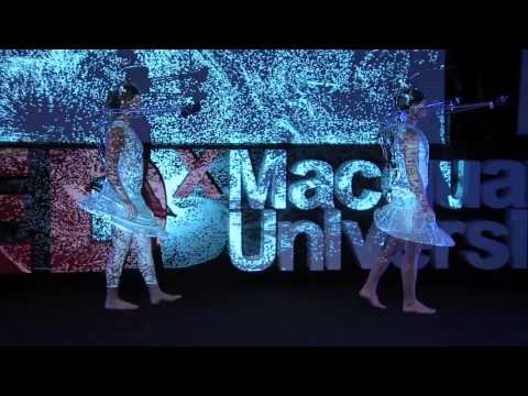 Projection masking: Stalker Theatre at TEDxMacquarieUniversity