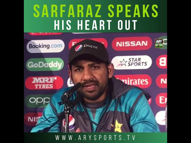 Sarfaraz urges angry Pakistan fans to stop World Cup abuse