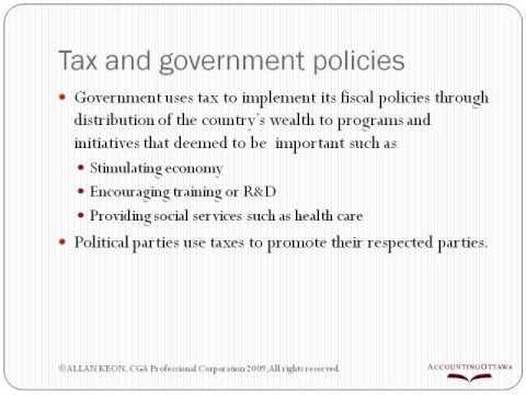 Tax In Canada