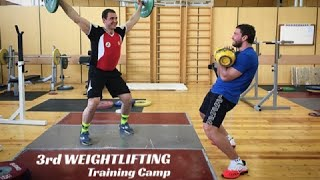 3rd WEIGHTLIFTING Training Camp / 2