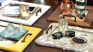 Live at Southern Living: Coffee Table Trays with Craft Box Girls