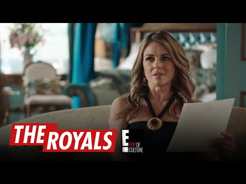 The Royals   Queen Helena Tries to Pick a Wife for King Robert Off a List   E!