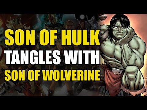 Son of Hulk vs Hulk, Wolverine, Wolverine