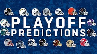 Playoff Predictions: Who is In and Who Will Get a 1st Round Bye?