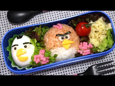 angry birds bento lunch box recipe. Black Bedroom Furniture Sets. Home Design Ideas