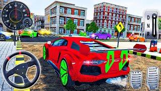 Araba Yıkama Hizmeti ve Benzin İstasyonu 3D - Modern Araba Garaj Simülatörü - Android GamePlay