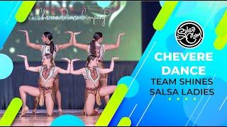 Chevere Dance Team Salsa Shines Ladies Euroson Latino 2018