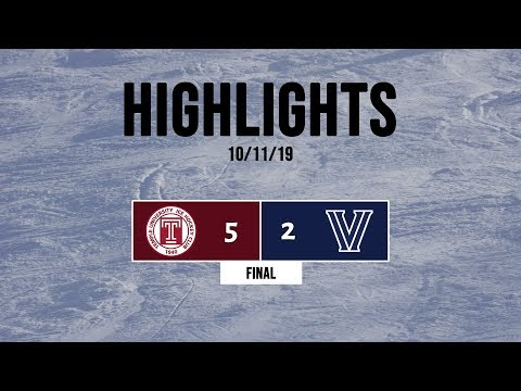 Highlights | Temple Owls Vs. Villanova Icecats (At Hatfield Ice) - 10/11/19