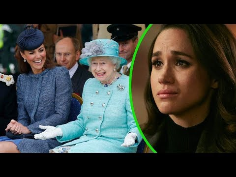 The Queen has accidentally revealed she likes Kate Middleton more than Meghan Markle..Why?