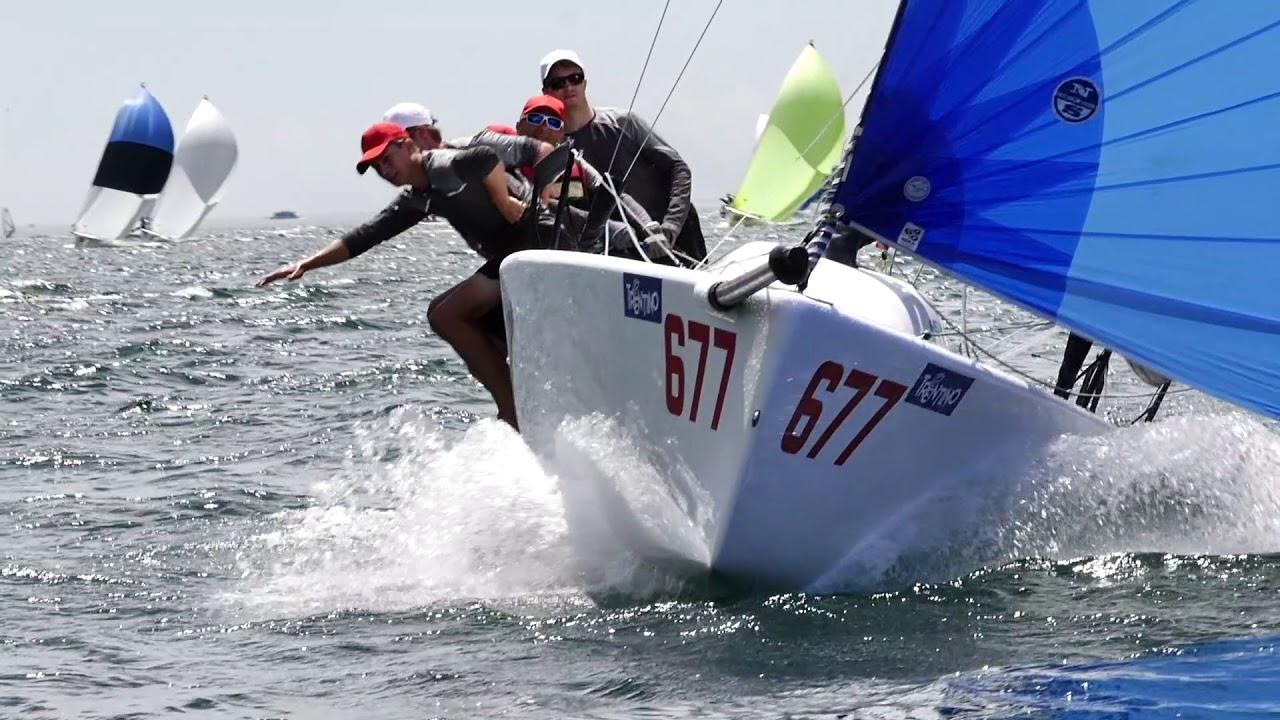 24b430ca0f2c53 Torbole - Melges 24 European Sailing Series 2018 - YouTube