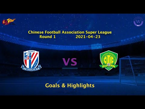 Shanghai Shenhua Beijing Guoan Goals And Highlights