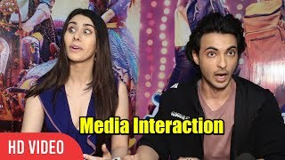 Chit Chat with Aayush Sharma and Warina Hussain | College Memories, Salman-Katrina as Couple
