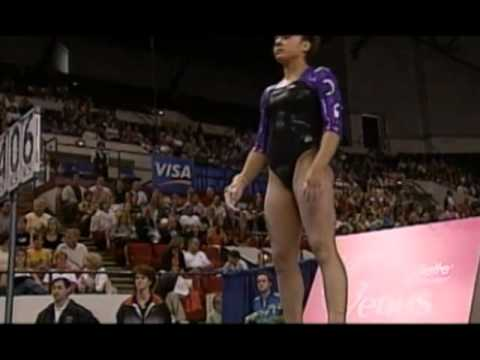 Broadcast Close  2003 US Gymnastics Championships  Women  Day 2