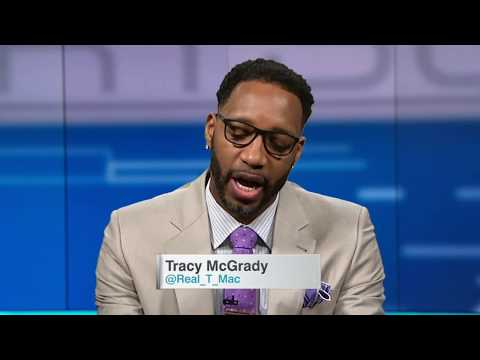 T-Mac's top five (Starting five) NBA players of all time  (2016)