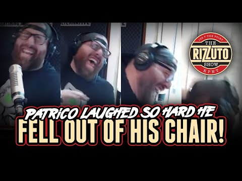 Patrico laughed so hard... that he FELL out of his CHAIR! [Rizzuto Show]