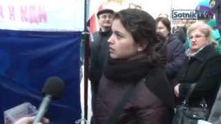 Москва !  Жители Москвы недовольны сбором денег для войны!