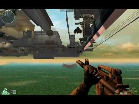 Crossfire EU glitch con fly hack Mappa:PORT