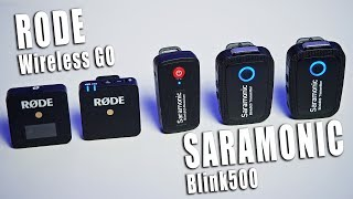 Download НАТЯНУЛИ RODE! Обзор Saramonic Blink500 и сравнение с Rode Wireless GO Mp3 and Videos