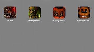Пять ночей у Фредди,Five Nights at Freddy's,FNaF 2,FNaF 3,FNaF 4,Фредди 4, 5 ночей